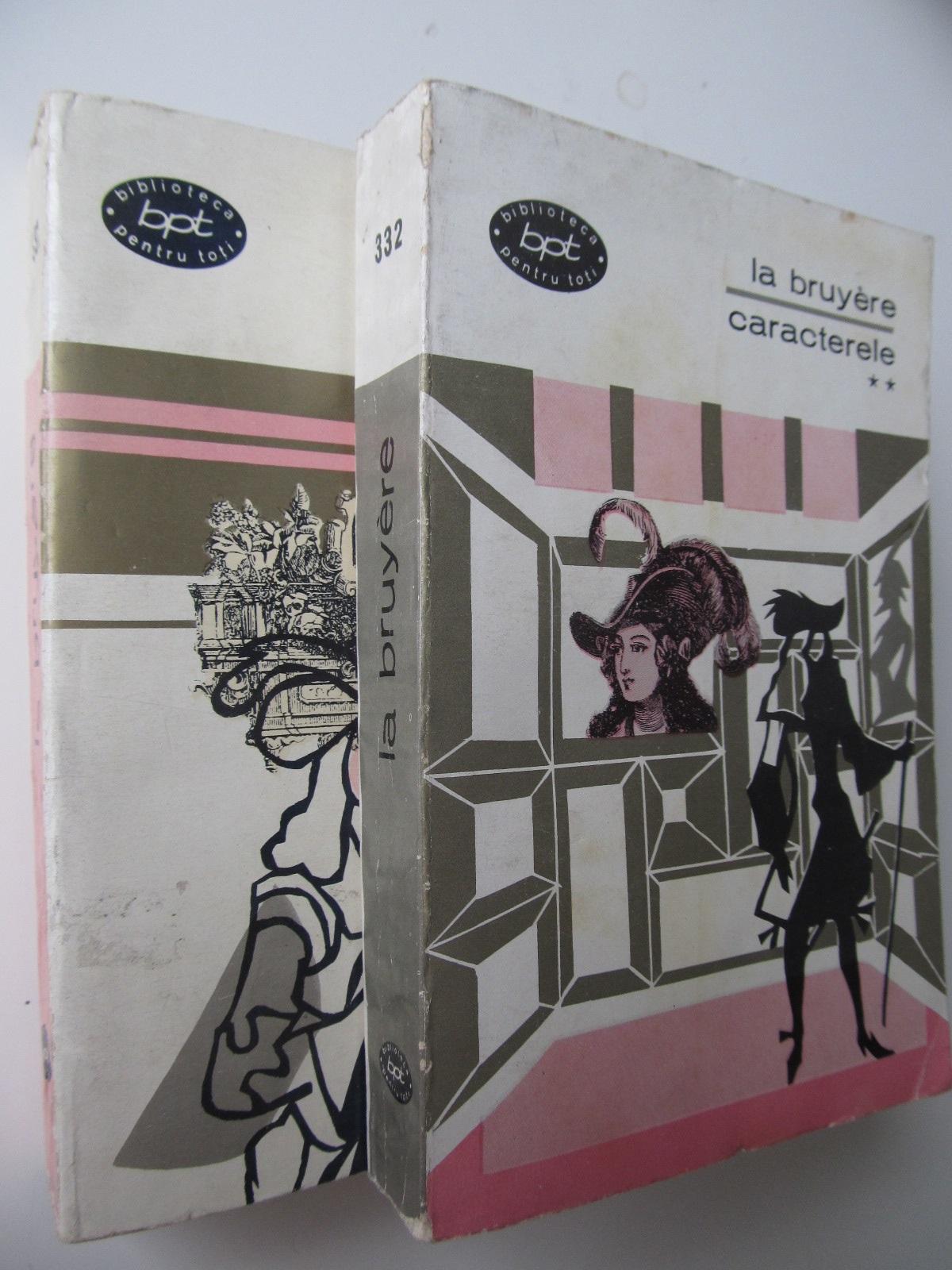 Caracterele (2 vol.) - La Bruyere | Detalii carte