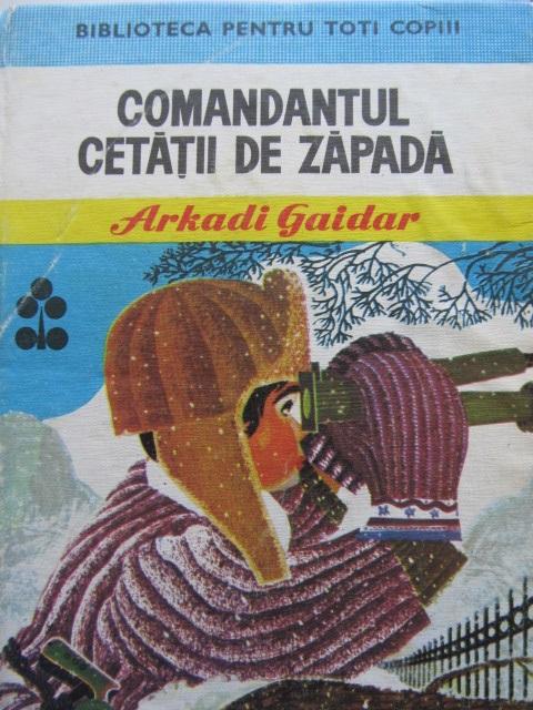 Comandantul cetatii de zapada (29) (ilustr. Gion Mihail) - Arkadi Gaidar | Detalii carte