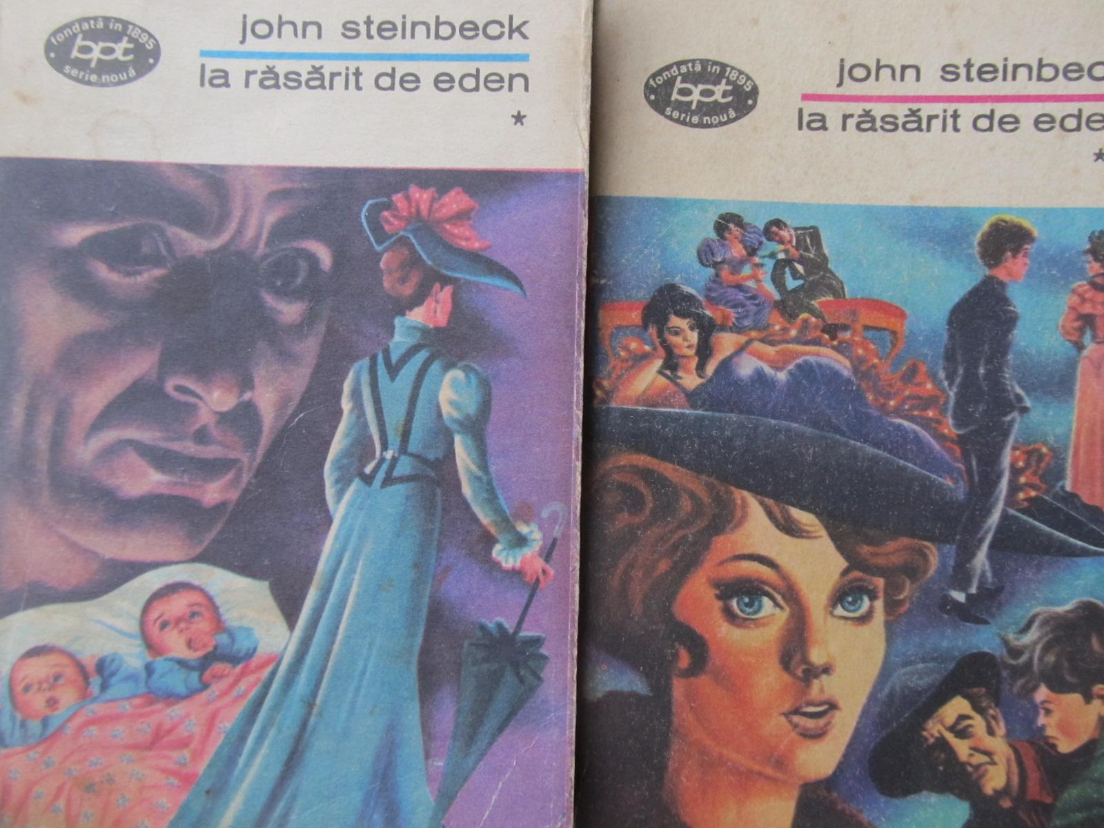 La rasarit de Eden (2 vol.) - John Steinbeck | Detalii carte
