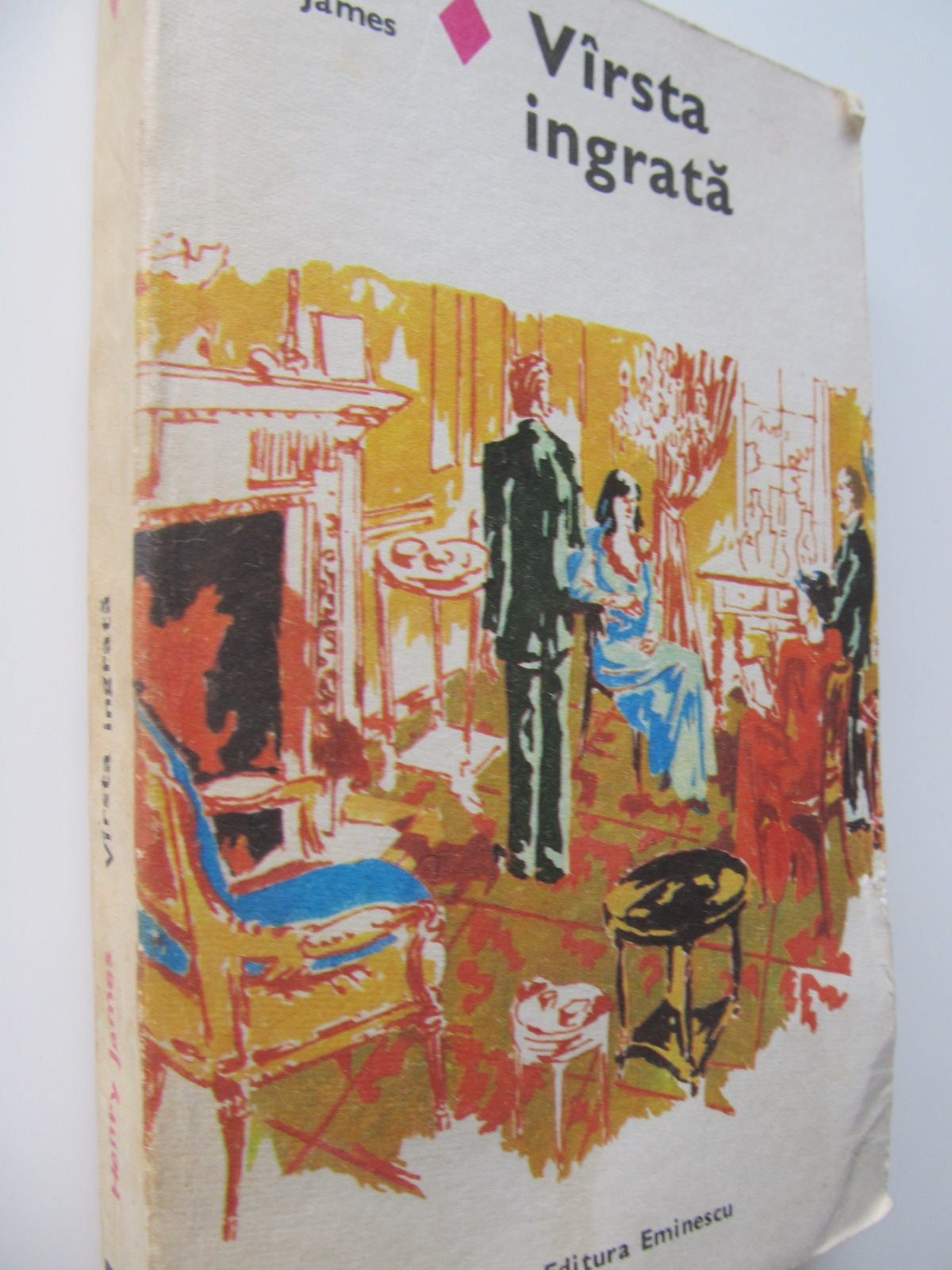 Varsta ingrata - Henry James | Detalii carte